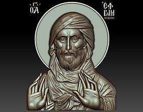 3D model Saint Ephraim the Syrian