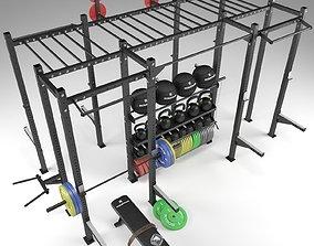 3D model Crossfit rig