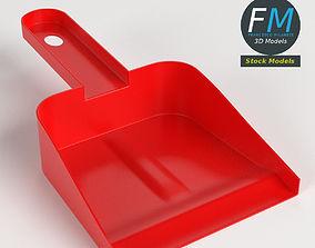 Dustpan 3D model PBR