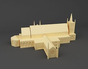 3D print model St Andrews Cathedral Singapore