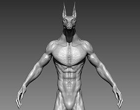 3D Dog Creature