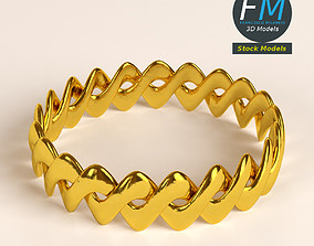 3D Braided ring