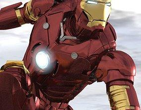 IronMan Comics 3D model