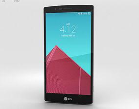 LG G4 Leather Black 3D