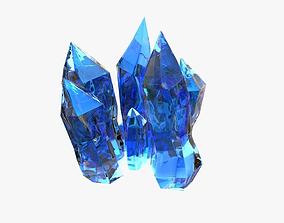 3D StarCraft II Minerals