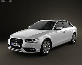 3D model Audi A4 Sedan 2013