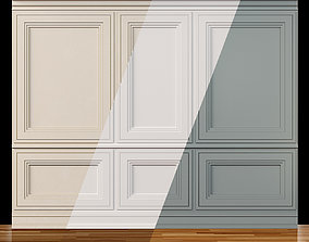 3D model Wall molding 13 Boiserie classic panels
