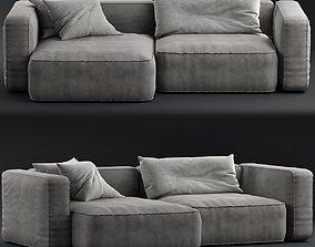 3D model Living divani Neo Wall Sofa B