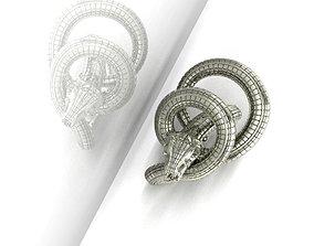 3d 3D print model Ring 38 Snake