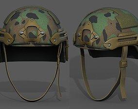 Helmet military combat scifi futuristic military 3D model