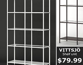 IKEA VITTSJO Shelf unit medium 3D model