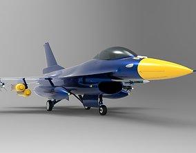 Jet F-16 3D model
