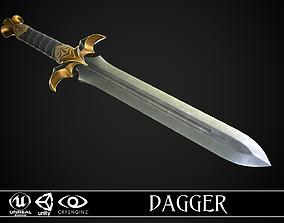 Dagger A2 3D model