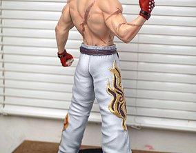 Kazuya Mishima Tekken Fan Art Statue 3d