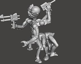 MODULOK MOTU STYLE VINTAGE ACTION 3D printable model
