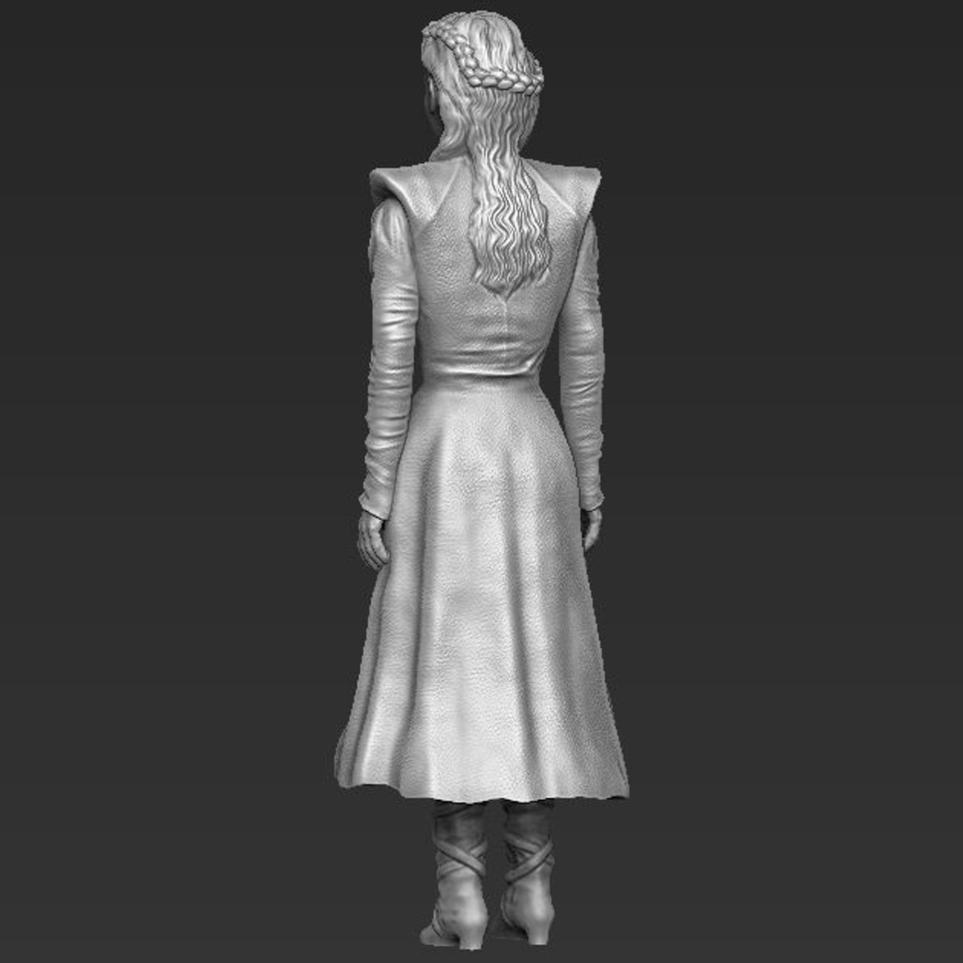 Daenerys Targaryen Game of Thrones 3D printable