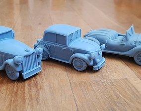 Gangster bang cars 3D printable model