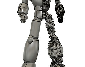 other tetsujin 28 half mechanic figure 3d model
