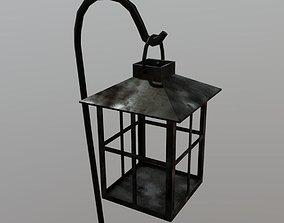 Lantern 3D asset game-ready