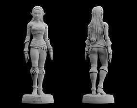 Zelda Breath of the Wild Model files Statue Figure 3D