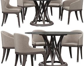 Potocco Miura chair 3D model