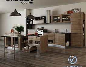 3D model ARAN cucine Magistra