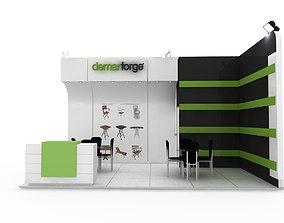 3D model Demar Forge Exhibiton Design