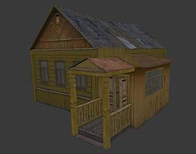 3D model Old Village House 4