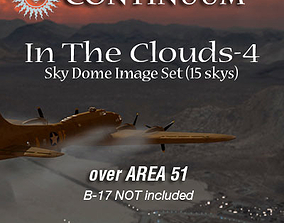 3D In The Clouds 4 - Area 51 - sky dome pak
