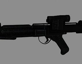 E-11 Blaster Rifle 3D asset