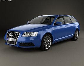 3D Audi S6 Avant 2006