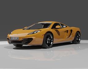 Mclaren Car 3D asset