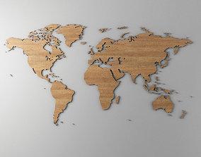 Weltkarte 3d Models Cgtrader