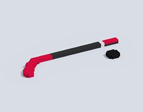 3D asset Voxel Hockey Equipment