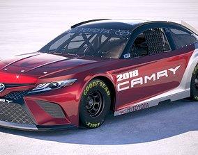 Toyota Camry Nascar 2018 3D