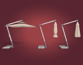 Outdoor Umbrella 4 3D asset
