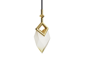 Bec Brittain Seed Single Pendant 3D model