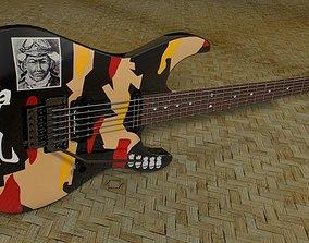 George Lynch ESP kamikaze Standaard 3D model