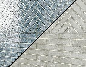 3D Roman glass tile