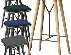 Fredericia Spine barstool model