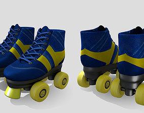 3D asset Roller Skates