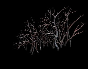 bridge Game Model - snow - vegetation 01