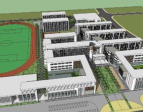 3D model Region-City-School 127