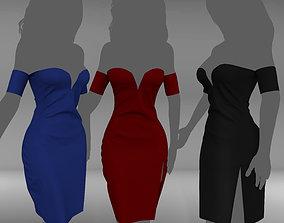 3D model Sexy Dress