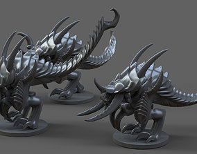 Tyranid squad 3D printable model