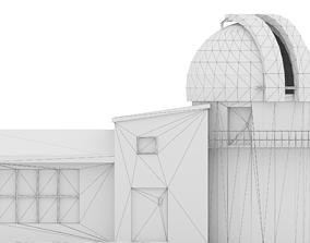 Nassau Astronomical Station low poly non 3D model 1
