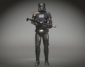 3D StarWars Death Trooper