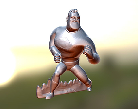 3D printable model Mr Incredible - The Incredibles