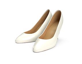 High Heel Shoes 3D asset