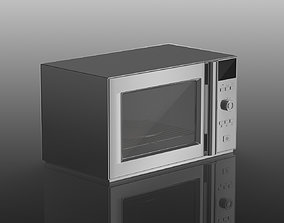 3D model Microwave oven
